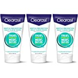 Clearasil Gentle Prevention Daily Clean Face Wash, 6.5 oz, Oil-Free (Packaging May Vary) (Pack of 3)