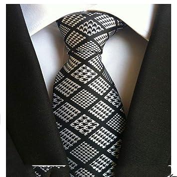 XJIUER corbata Corbatas para Hombre Corbata Accesorios de Vestir ...