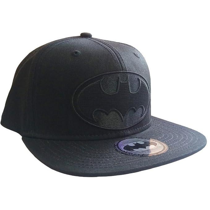 Gorra con Logo de Batman, negro, DC Comics negro negro Talla única: Amazon.es: Ropa y accesorios