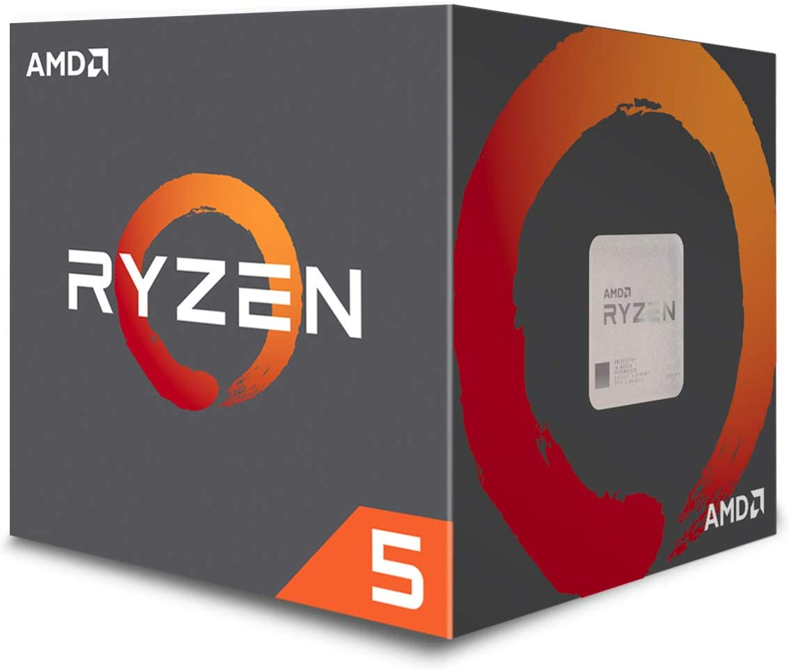 AMD Ryzen 5 1600 6-Core, 12-Thread Unlocked 65W Desktop Processor with Wraith Stealth Cooler (YD1600BBAFBOX)