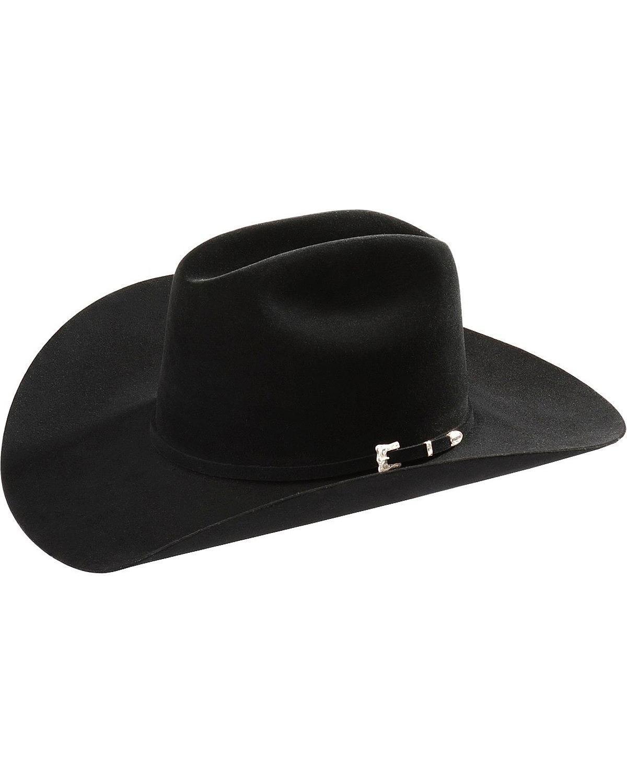 Resistol Men's Black Gold Hat, 6 3/4