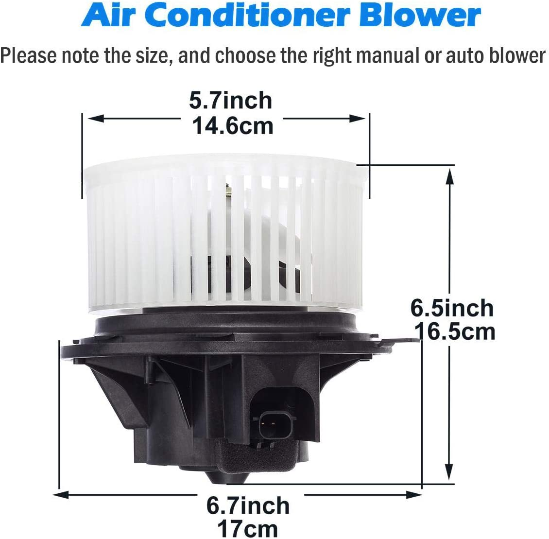 Blower Motors AUTEX HVAC Blower Motor Assembly Compatible with ...