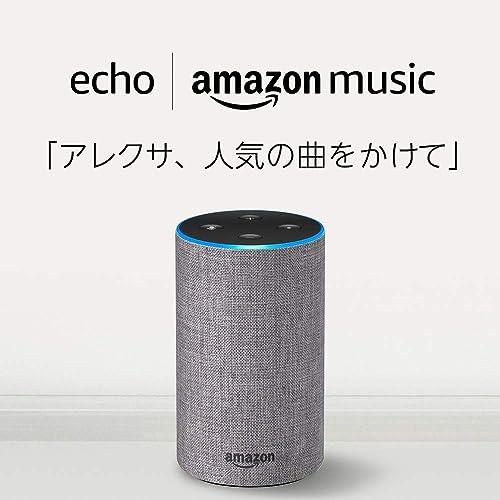 第2世代 Echo + Amazon Music Unlimited (4ヶ月)