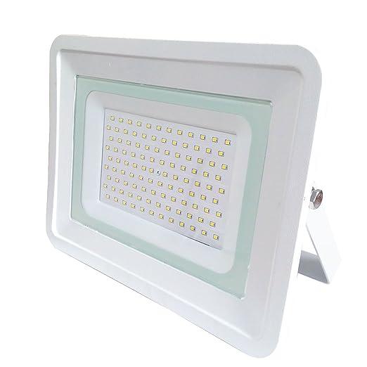 Proyector faro LED de luz fría delgado al aire libre 100w vatio ...