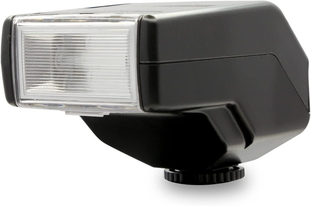 Ultimaxx Universal Low Profile Automatic Flash with Bounce for Sony A7 A7S//A7SII A7R//A7RII A7II NEX6 RX1 RX1R RX10 RX100II HX50 A6000 A6300