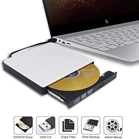 USB 2.0 External CD//DVD Drive for Acer Aspire 5551-p322g25mnsk