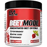 Evlution Nutrition Beet Mode, Concentrated Beet Root Crystals, Nitric Oxide Booster, Natural Circulation, Immune Support…