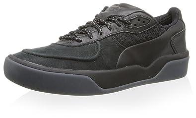 Mens Shoes PUMA Sport Fashion MCQ Brace Low Nubuck Black