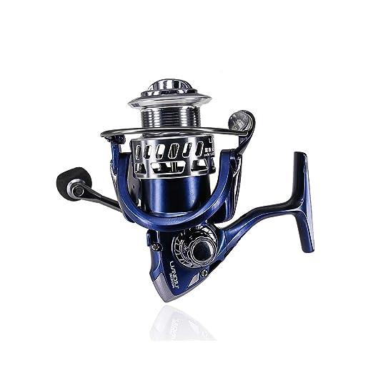 HULEI Spinning Fishing Reel 9 + 1 Bearing Balls 1000-6000 Series ...