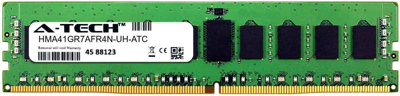 HMA41GR7AFR4N-UH-ATC DDR4 2400MHz PC4-19200 ECC Registered RDIMM 1rx4 1.2v Single Server Memory Ram Stick A-Tech 8GB Replacement for Hynix HMA41GR7AFR4N-UH
