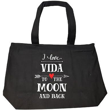 VIDA Tote Bag - moon love by VIDA 7TsND