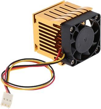 perfk Northbridge Southbridge - Juego de Chips para PC y portátiles (40 mm, con Conector de Placa Base de 3 Pines), Color Dorado: Amazon.es: Electrónica