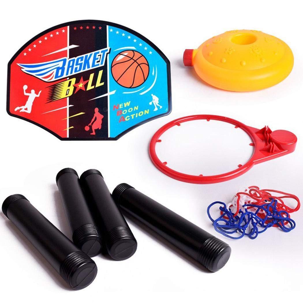keelied Jeu de Jouet de Stand de Basket-Ball r/églable de Taille denfants dint/érieur portatifs ext/érieurs Billes