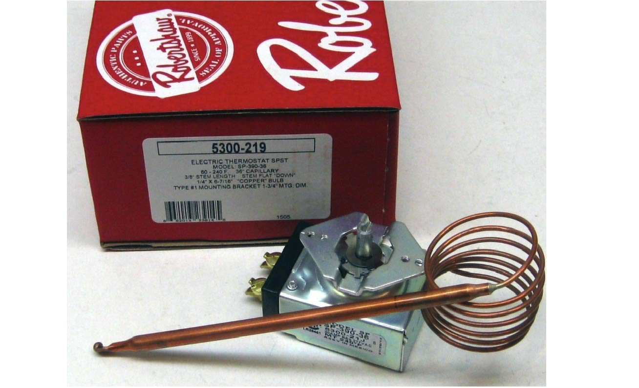 Northreps 5300-219 Electric Oven Thermostat SPST SP-390-36 2TY1668 36''