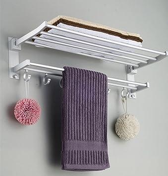 Platz Aluminium Wand montiert Badezimmer Handtuch Rack ...