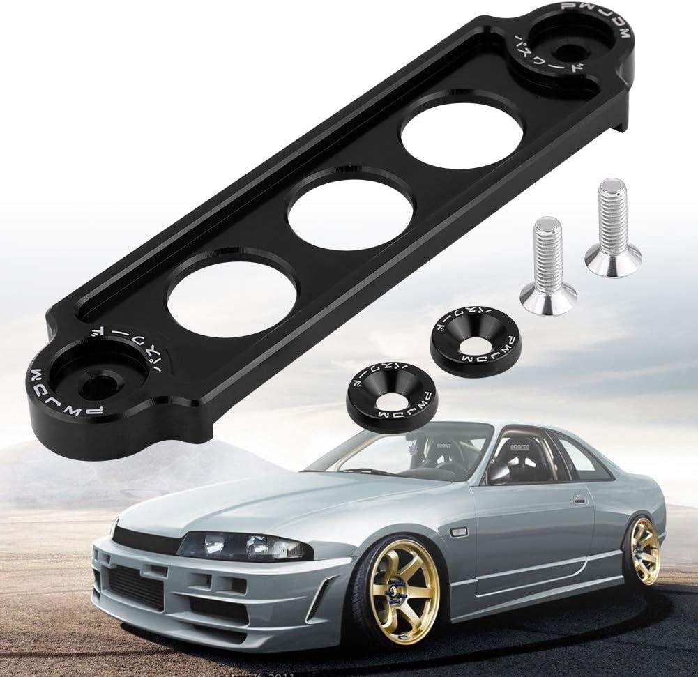 Purple Senyar Aluminum alloy Car Racing Battery Tie Down Hold Bracket Holder Lock Anodized for HONDA CIVIC//CRX 1988-2000