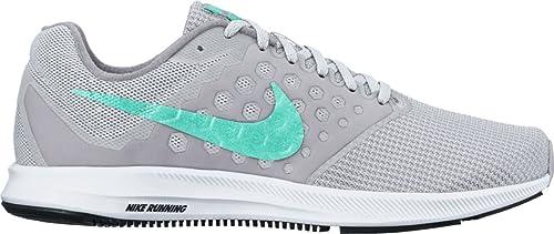 Zapatillas para mujer de Nike Downshifter 7, (negro, gris (Black Mtlc Dk Grey Wolf Grey)), 11.5 B(M) US: Amazon.es: Zapatos y complementos
