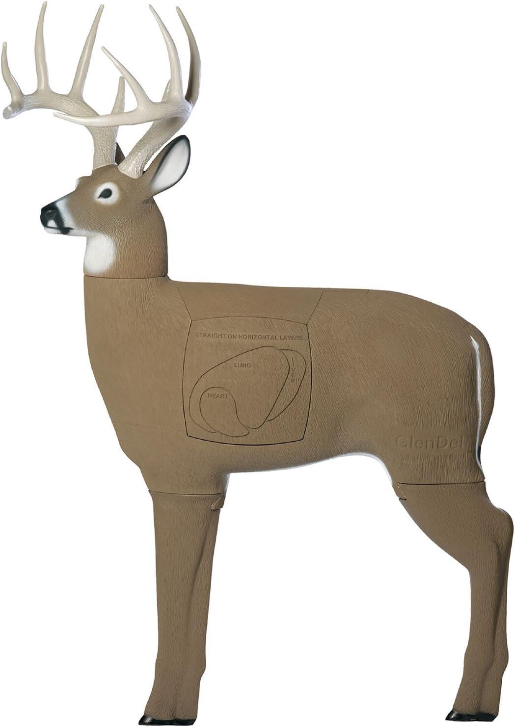 GlenDel Crossbow Buck 3dアーチェリーターゲットの交換可能なコア