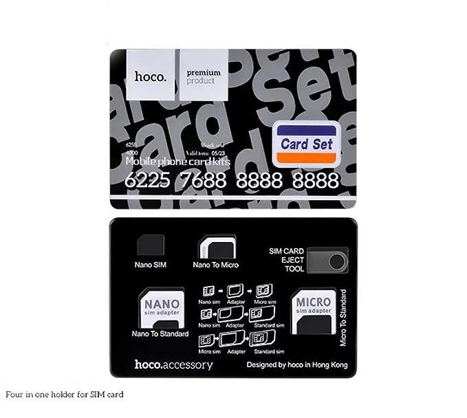 Hoco cuatro en un soporte para tarjeta Micro SIM adaptador ...