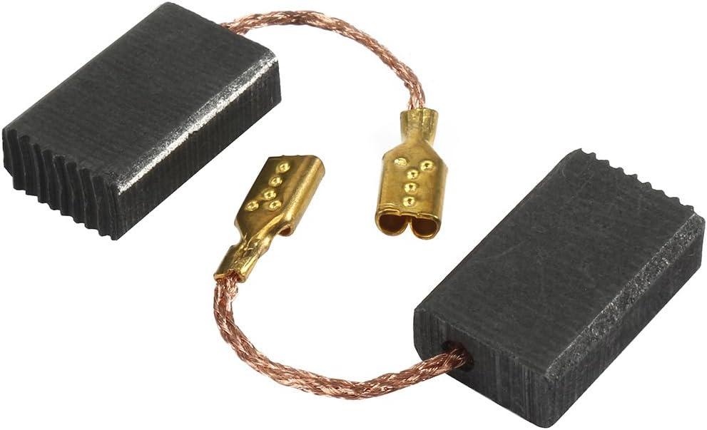 sourcingmap 5 pares Escobillas de carb/ón para Bosch amoladora angular de 15mm x 8mm x 5mm herramienta el/éctrica