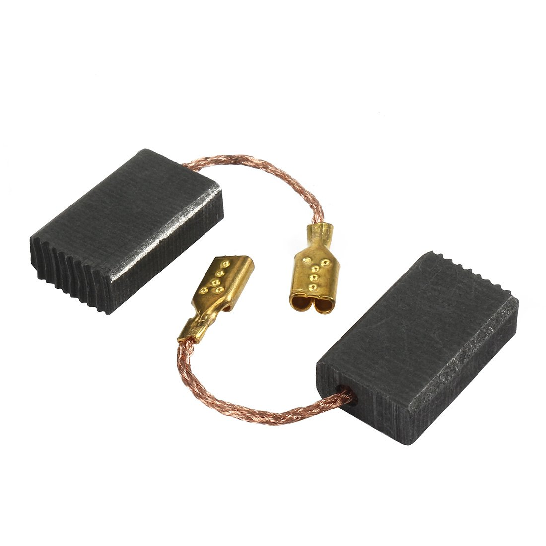 uxcell 1 Pair Carbon Motor Brushes Spare Part Power Tool 5mm x 10mm x 15mm