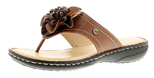 76ff862799856b Hush Puppies New Ladies Womens Tan Adra Grace Toe Post Sandals - Tan - UK