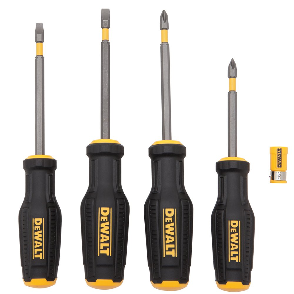 DEWALT DWHT62054 MAX FIT 4 Piece Screwdriver Set
