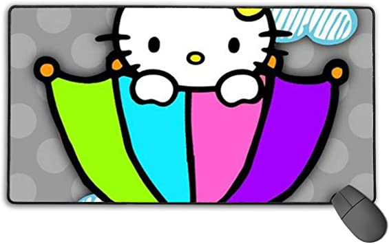 Alfombrilla de ratón grande para juegos Hello Kitty ...