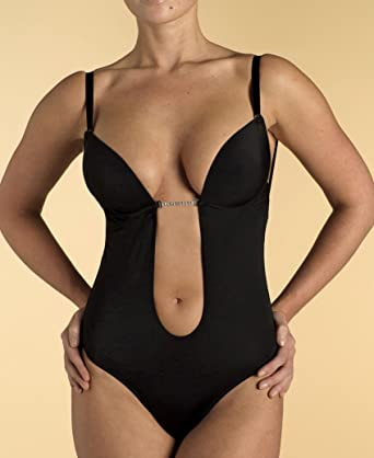 Ultimo Black Miracle Frontless  Backless Body  Amazon.co.uk  Clothing 18b28a270