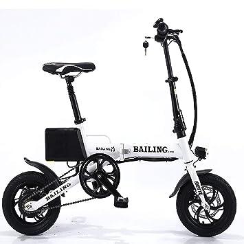 01206c5f6965e FJW Unisexe Vélo électrique 36V 250W Batterie au Lithium Ebike Vélo Pliant  de 14 Pouces Hybride