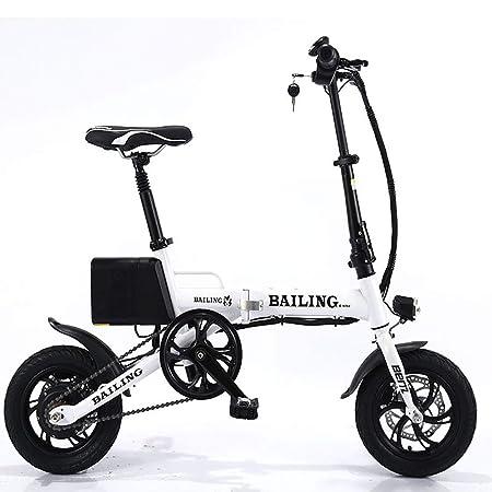FJW Unisexo Bicicleta electrica 36V 250W Batería de Litio Ebike ...