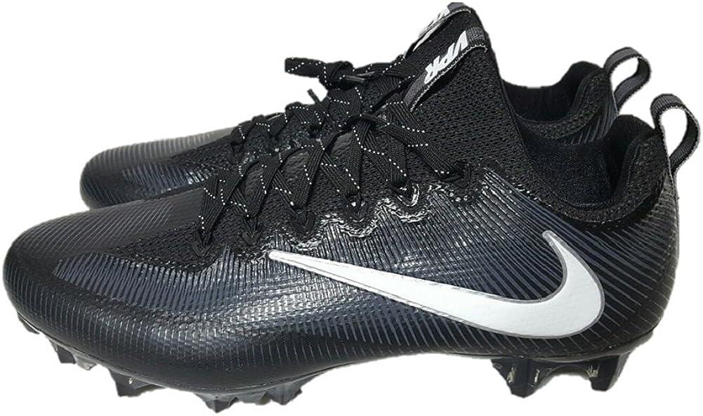 Nike Vapor Untouchable Pro Carbon Football Cleats Shoes Mens Size 13 Black White