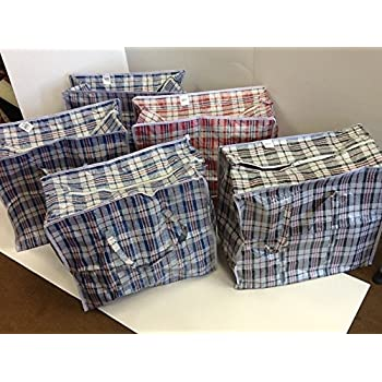 Amazon Com Set Of 5 Large Extra Wide Plastic Checkered