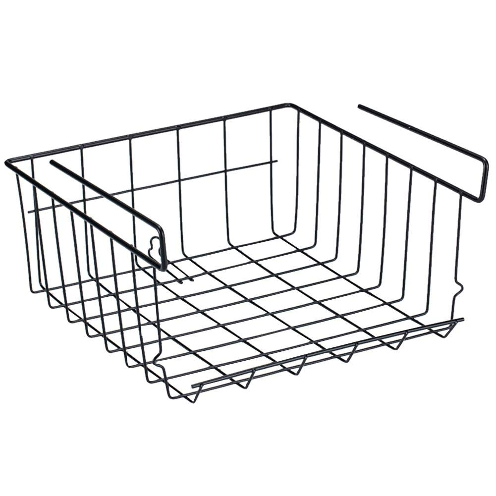Beatie multi-function storage basket, rust-proof, stackable, very sturdy and lightweight, suitable for kitchen storage space saving, suitable for any cabinet storage rack, lower cabinet, storage rack,