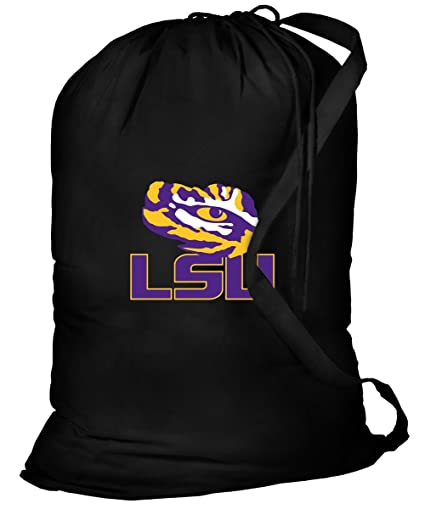 Amazon.com: LSU lavandería bolsa LSU la ropa bolsas: Sports ...