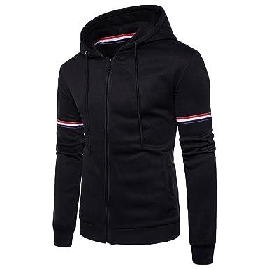 Mens High Quality Padded Borg Fleece Lined Full Zip Up Hoodie Sweatshirt Jacket