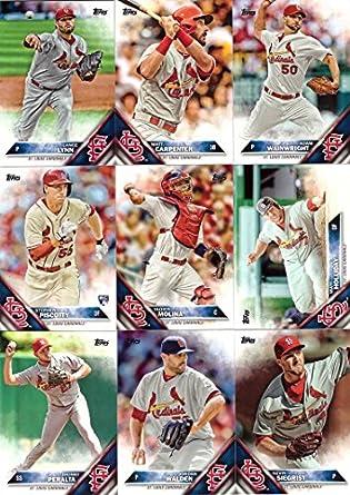 Amazoncom 2016 Topps Series 1 St Louis Cardinals Baseball