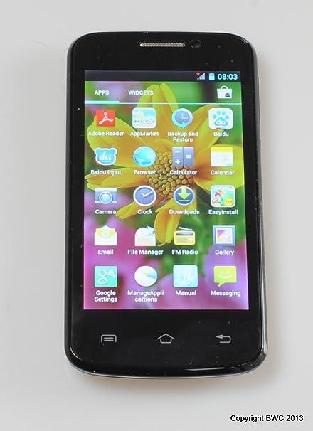 BWC Atom X12 Miki 4 Pulgadas HD de Pantalla Dual SIM Smartphone -Android con Pantalla táctil capacitiva y conectividad WiFi , 2G y 3G: Amazon.es: Informática