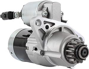 DB Electrical SMT0219 New Starter For Nissan 2.5 2.5L Altima w/Automatic Transmission (02 03 04 05 06 07) Sentra 2.5L w/AT (02-06) 23300-8J000, 23300-8J001, M0T60781, M1T68781, M1T68781ZC