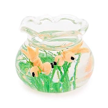 Amazon.es: Odoria 1/12 Miniatura Acuarios de Peces Transparente Decorativo para Casa de Muñecas: Juguetes y juegos