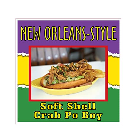 Image result for new orleans soft-shell crab po boy