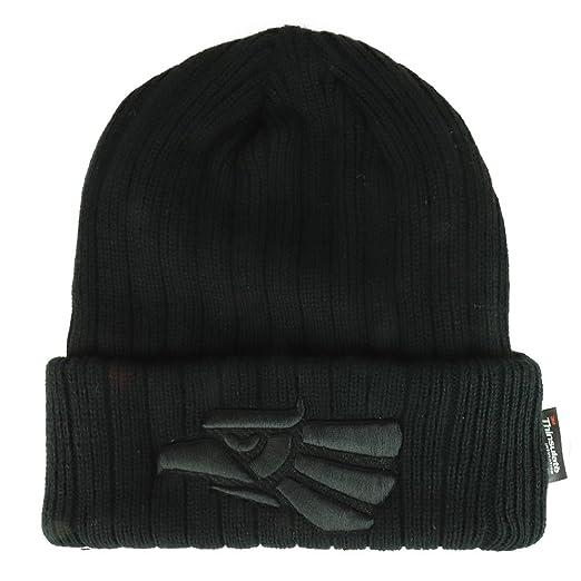 8b8620b2e3e Trendy Apparel Shop Hecho En Mexico Eagle Embroidered 3M Thinsulate Fleece  Lined Beanie - Black Black