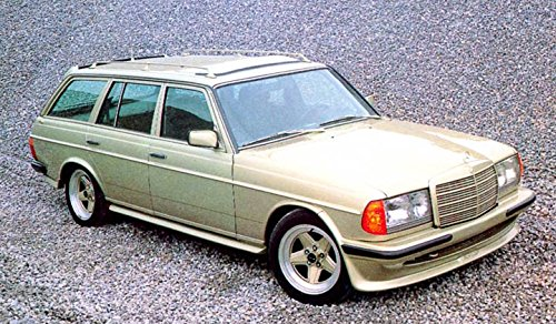 Amazon Com 1987 Mercedes Benz Amg 280te W123 Wagon Factory Photo