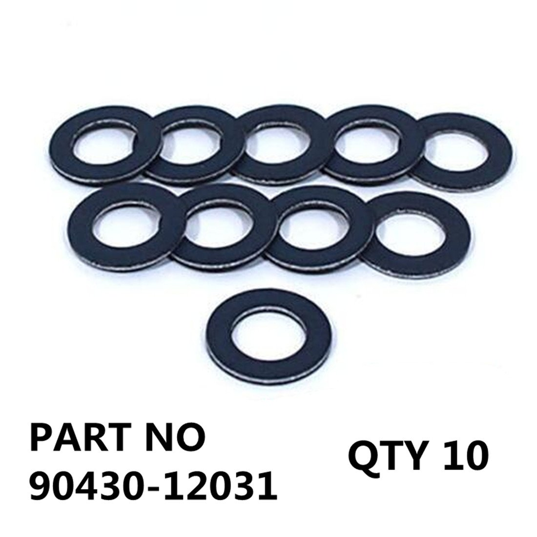 - 90430-12031 Genuine Toyota QTY10 Oil Drain Plug Gaskets