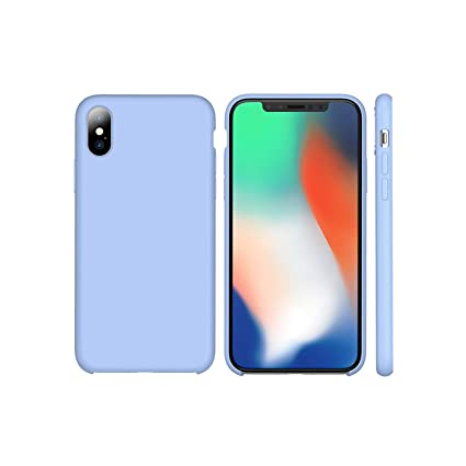 iPhone X XR 7 8 6S Plus Liquid Silicone