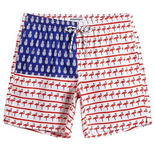 6a41865f1a600 MaaMgic Mens Slim Fit Quick Dry Swim Shorts Swim Trunks Mens Bathing Suits  with Mesh Lining