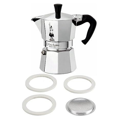 Amazon.com: Bialetti Moka Express - Cafetera de espresso con ...