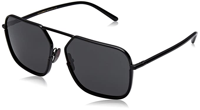 Dolce & Gabbana 0Dg2193J Gafas de sol, Matte Black, 59 para ...