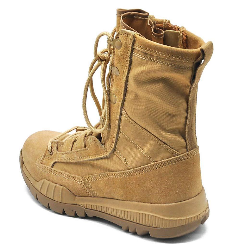 Yujingc Herren Combat Tactical Stiefel Delta Side Zip Military Work Army Schuhe Outdoor Sports Wandern Schn/ürstiefel Gro/ße atmungsaktive Schuhe