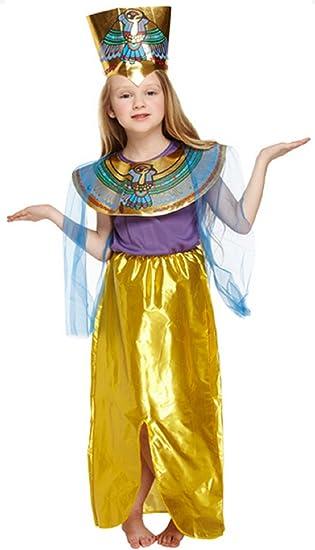 Niña de Princesa egipcia Cleopatra Reina del Nilo Disfraz Traje 4 ...
